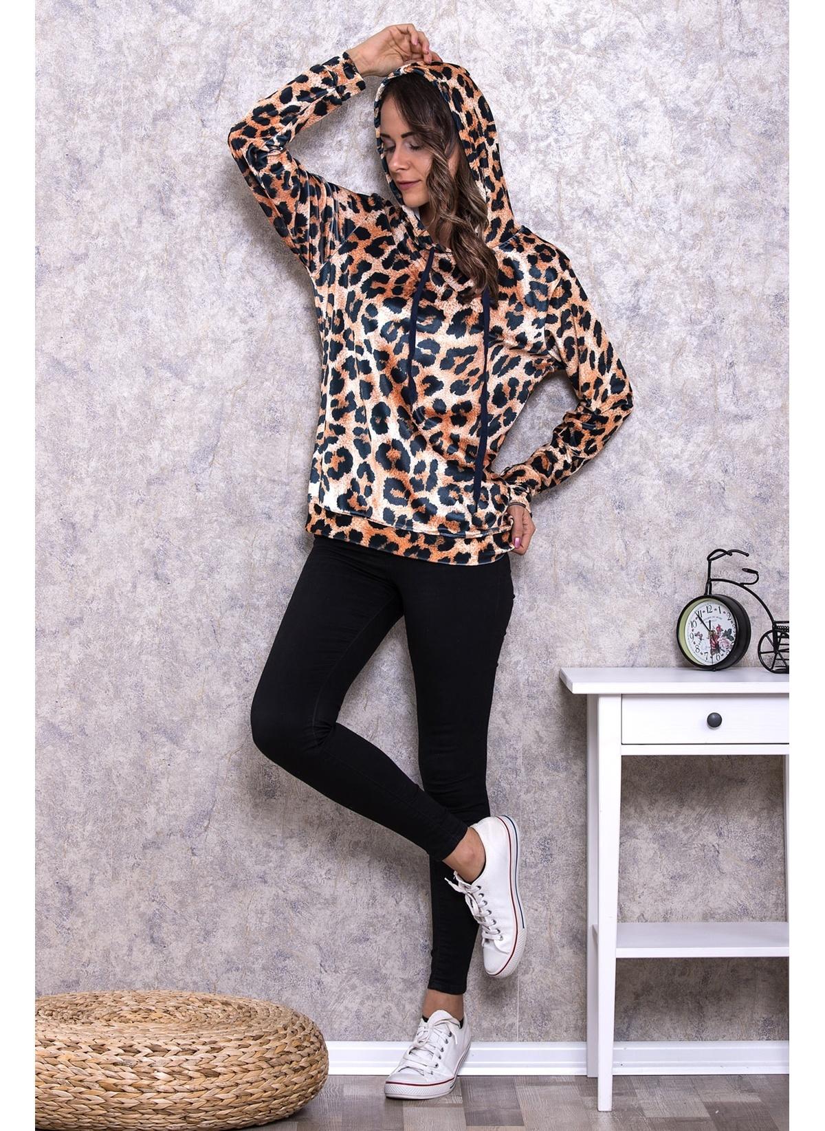 Lingabooms Sweatshirt Mde011 Kadın Kapüşonlu Sweatshirt – 49.99 TL